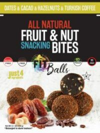 Fitballs Date Cacao Hazelnut Turkish Coffee
