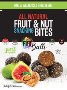 Fitballs Fig Walnut Chia Seeds