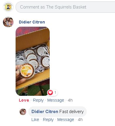 Didier C shipping