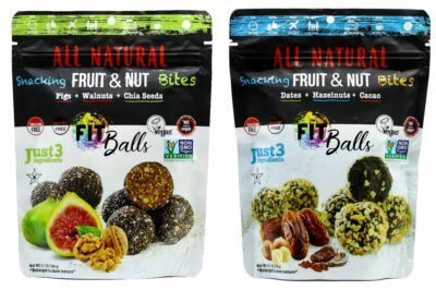 Fig Walnut & Date Cacao Hazelnut Fitballs