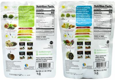 Fig Walnut & Date Cacao Hazelnut Fitballs nutrition