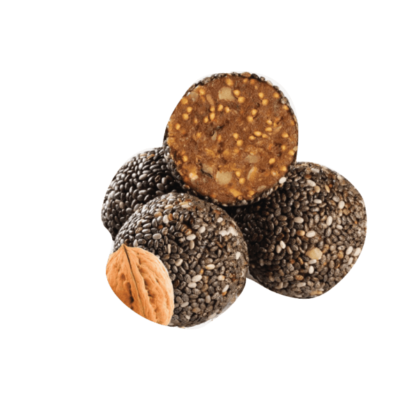 Fitballs Fig Walnut and Chia Seed