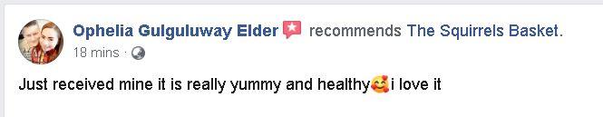 Ophelia Elder Comment