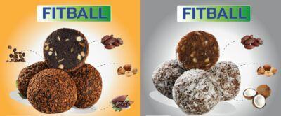 Turkish Coffee & Coconut Fitball Duo