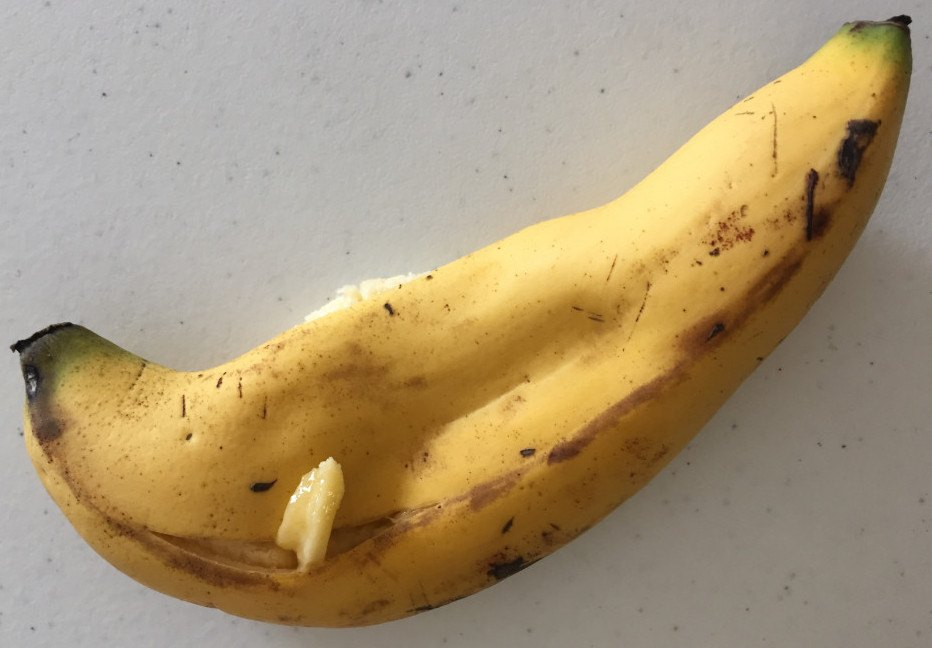 Squashed Banana
